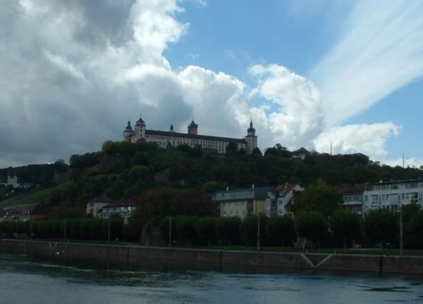 Die Festung Marienberg in Würzburg