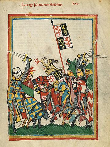 Ritter vor der Schlacht