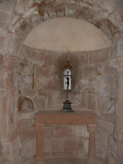 Turmkapelle im Dicken Turm der Burg Rieneck