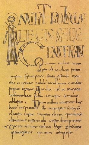 Handschrift der Lex Salica von 793