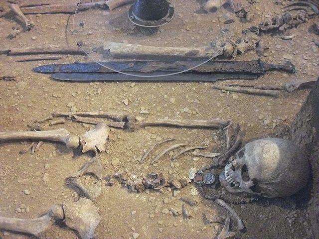 Merowingerzeitliches Grab