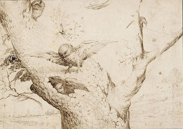 Hieronymus Bosch, Das Eulennest, 1505-1516