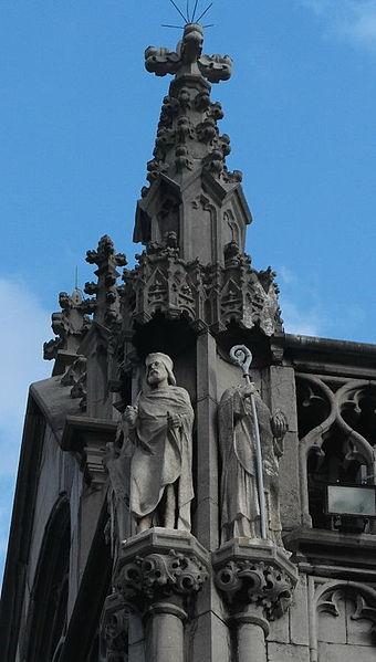 Statue Pippins des Älteren in Liège